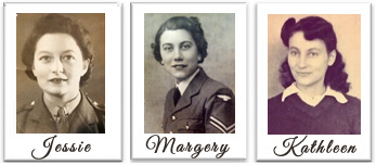 War girls Jessie Margery Kathleen